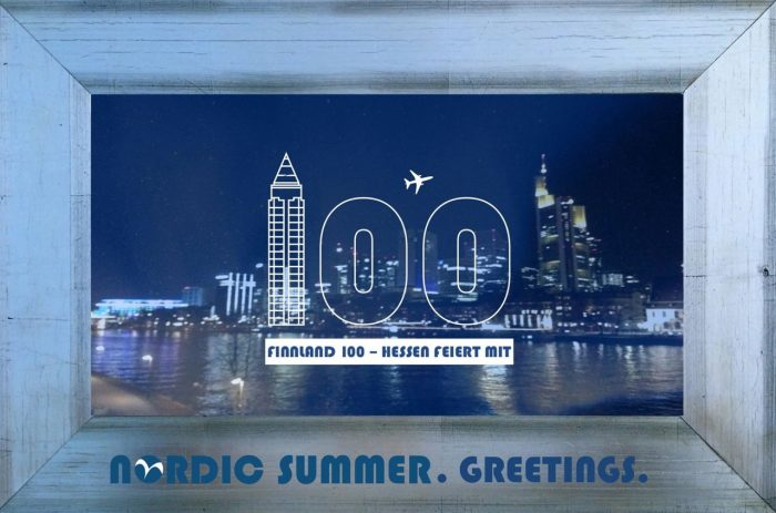 NORDIC SUMMER GREETINGS FRANKFURT RAHMEN